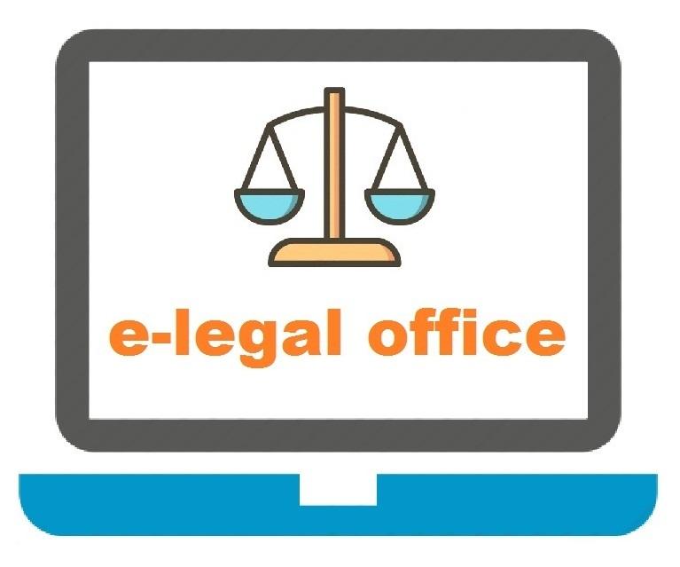 e-legal office logo